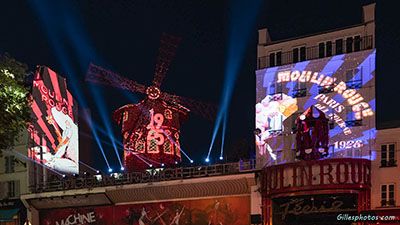 Photos le Moulin Rouge fête ses 130 ansle Moulin Rouge