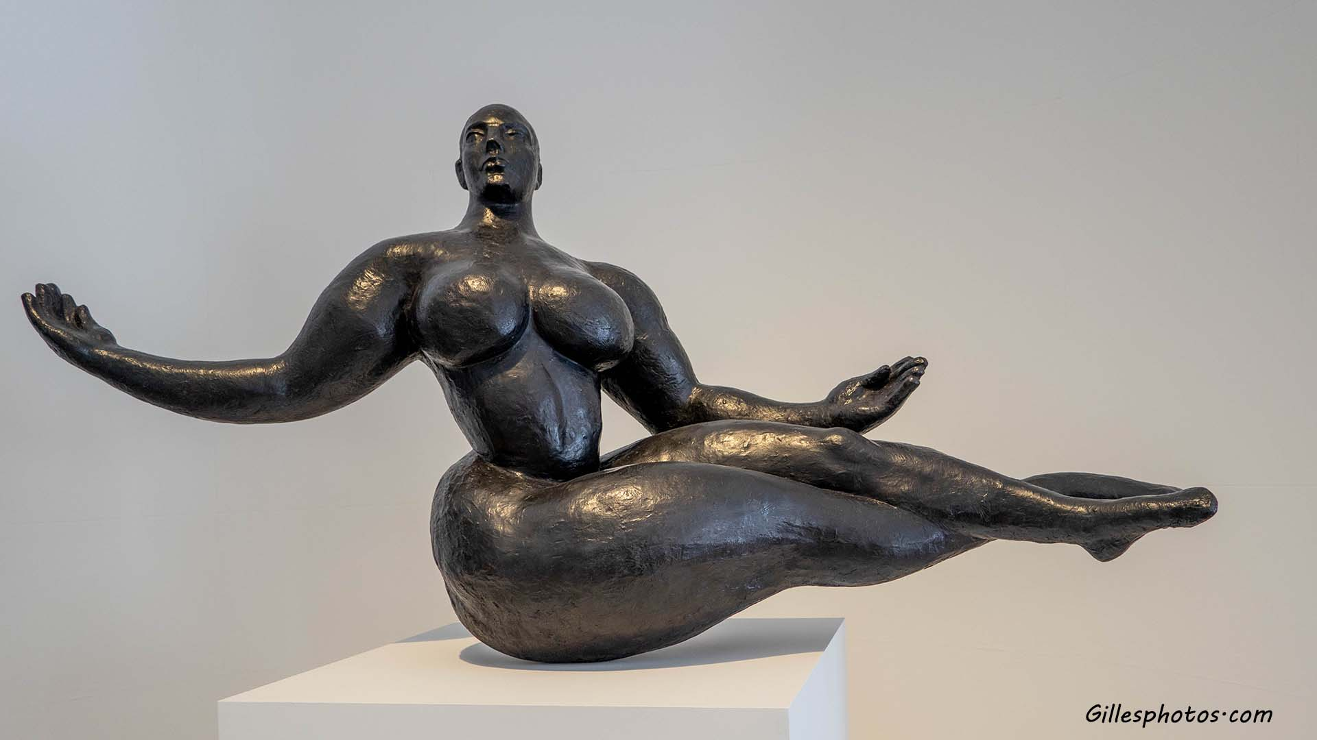 Photos Musée d'Art Moderne, Gaston Lachaise ( 1882,Paris - 1935,New York ) - Floating Woman 1927 (Fonte de 2015)