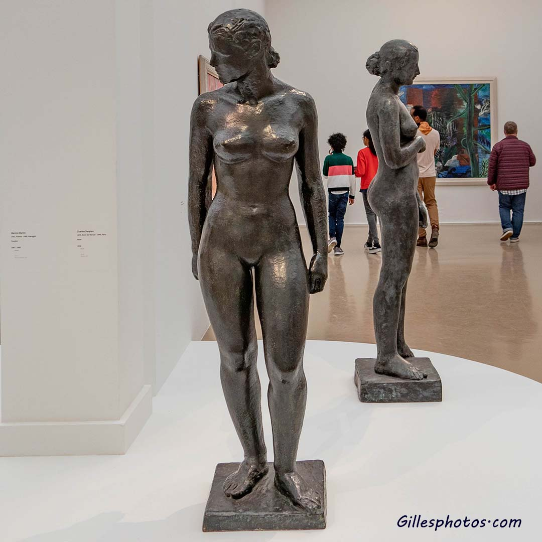 Photos Musée d'Art Moderne, Charles Despiau (1874,mont de Marsan - 1946,Paris) -Eve -1925 (Bronze)