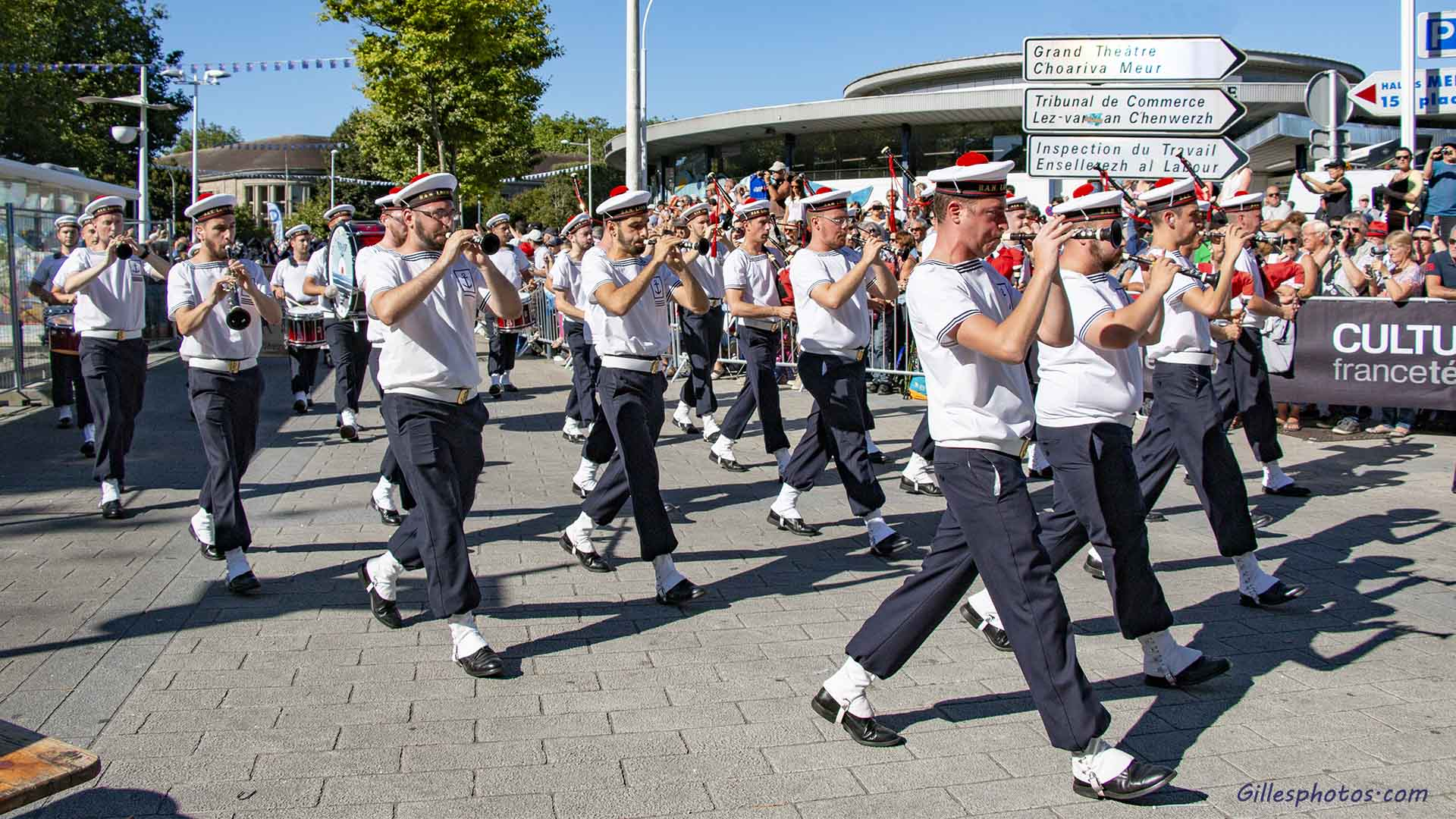 Photos défilé interceltique de lorient