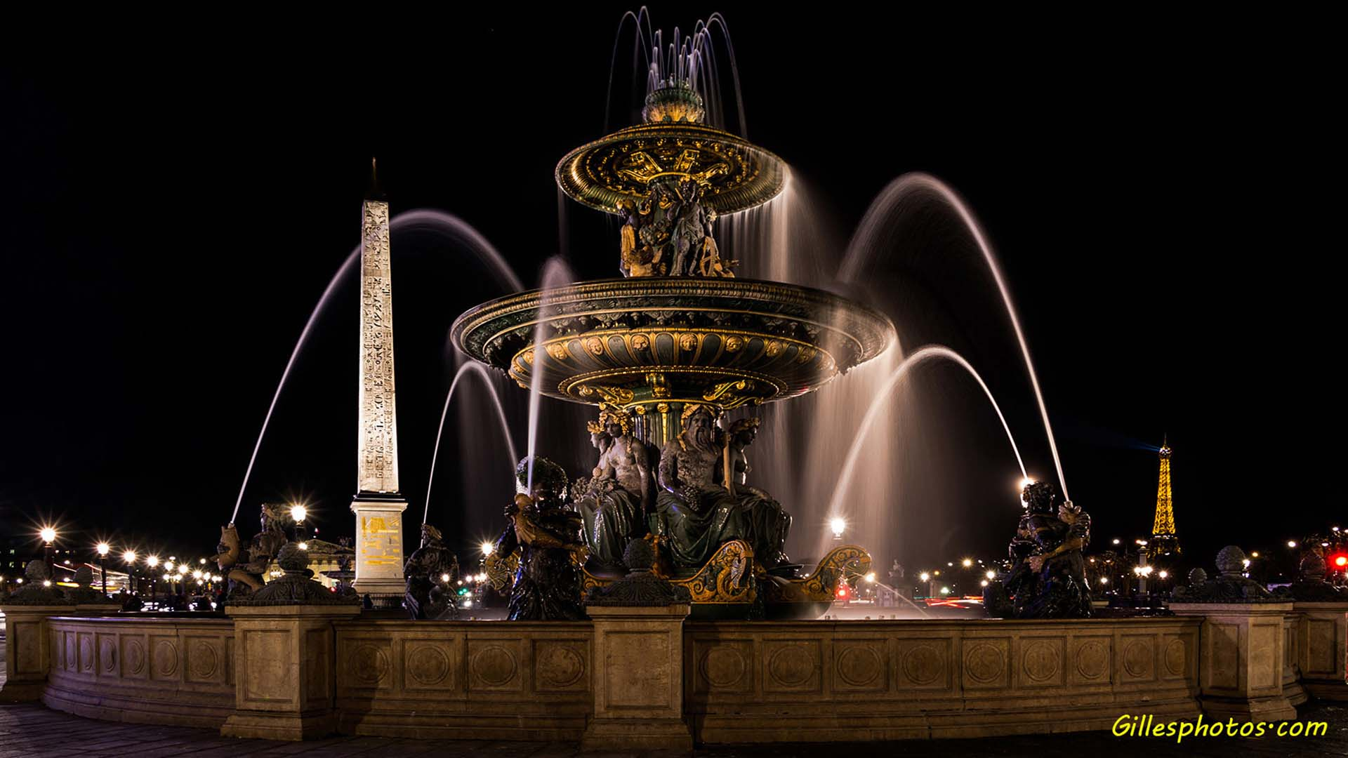 Photos Fontaine place de la concorde