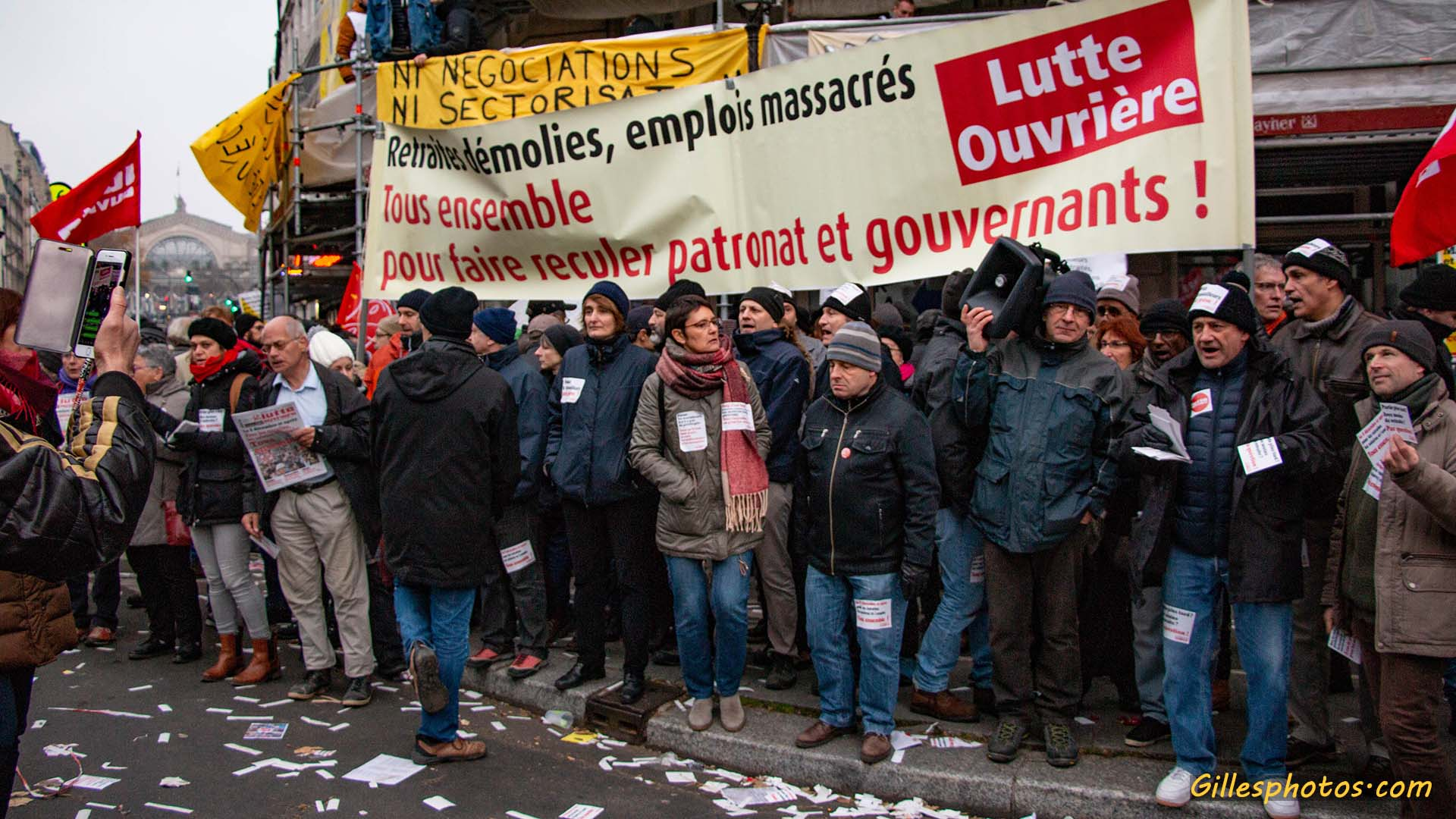 Photos Manif retraite 05/12/2019