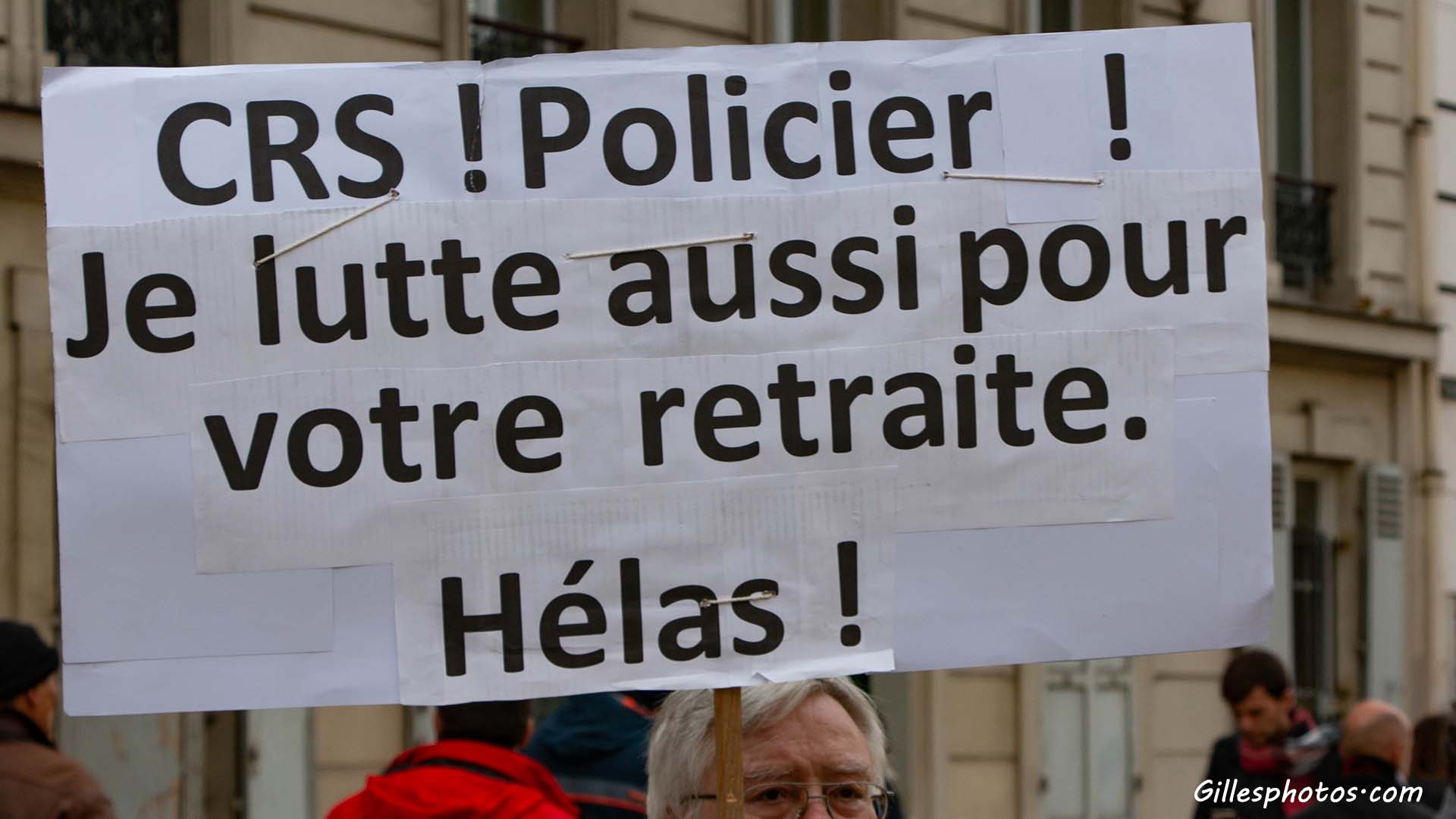 Photos Manif retraite 11/01/2020