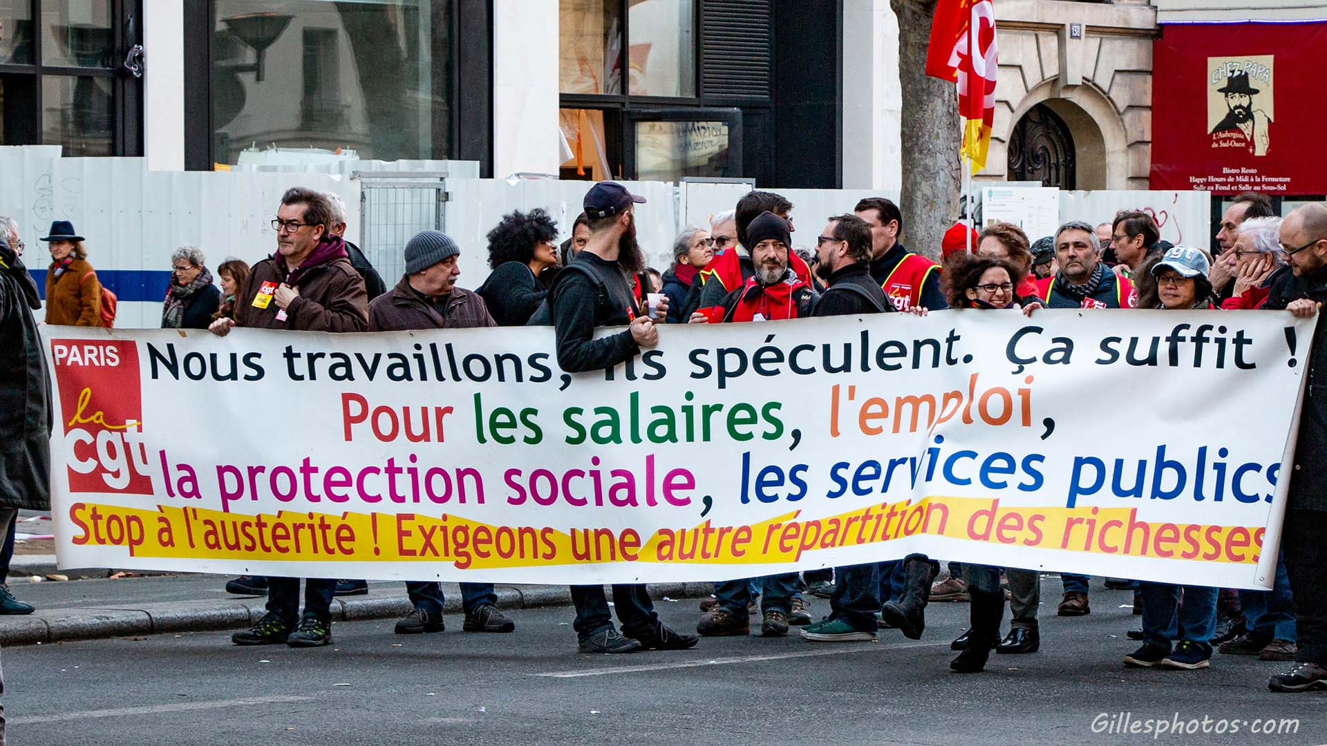 Photos Manif retraite 16/01/2020
