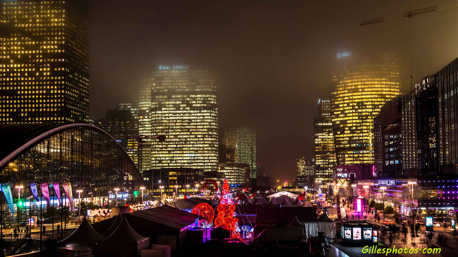 Marche de Noel -la defense